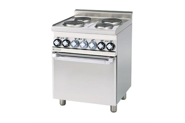 CFM4 - 66 ET Kuchnia elektryczna zpiekarnikiem